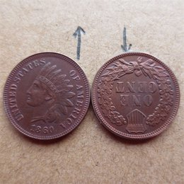 More Coins Australia - United States 1860 Indian Head Cent Copy Coins Free Shipping High Quality old style Copy coin Free shipping
