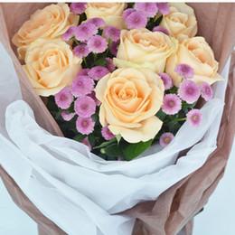 Bond Coating Australia - 30pcs Sydney Paper Series Korea Gift Flowers Packaging Paper Materials Ultra Thin Bouquets Wedding Gift Decoration Supplies 45pcs lot