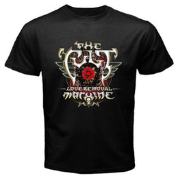 $enCountryForm.capitalKeyWord UK - New The Cult Love Removal Machine Album Cover Men's Black T-Shirt Size S-3Xl T Shirt Cotton Short Sleeve Brand-clothing New Style 3XL Funny