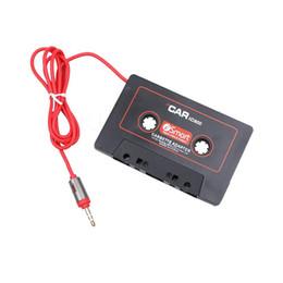 Опт Универсальный автомобиль кассета кассеты адаптер кассеты Mp3-плеер конвертер 3.5 мм разъем для iPod для iPhone AUX кабель CD-плеер