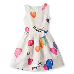 $enCountryForm.capitalKeyWord Australia - Summer Floral Frock Design Princess Girl Dress For Girl Dresses Kids Clothes Children Clothing Dress Girls Vestido Infantil 12