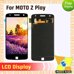 2pcs 100% Original LCD For Motorola MOTO Z Play XT1635 LCD Display Touch Screen Digitizer Full Assembly free shiping from jiake phones suppliers
