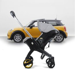 China Baby basket safety seat baby stroller with four-fold folding cart 17 new 4b1 stroller Free shipping in some countries cheap baby stroller safety suppliers