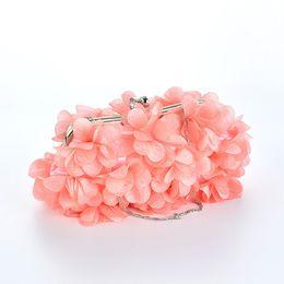Pp Housing UK - SFG HOUSE Elegant Flower Handbag Women Evening Party Bag Luxury Wedding Bag Casual Clutch Chain Strap Women Shoulder Bags