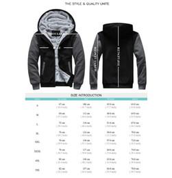 Team Usa Clothing NZ - USA size Football Team Men Women Thicken Fleece Zipper Hoodie Jacket Clothing Casual Coat