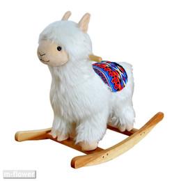 $enCountryForm.capitalKeyWord UK - Alpaca Children Rocking Horse Kids Solid Wood Rock Chair Toys Gifts Decoration Arts Crafts Shooting Props