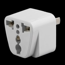 Accessories Usa NZ - Accessories Parts Electrical Socket Plugs Adaptors Hot 2 pin AC American USA Power Plug Adapter Travel Converter Australia UK USA EU