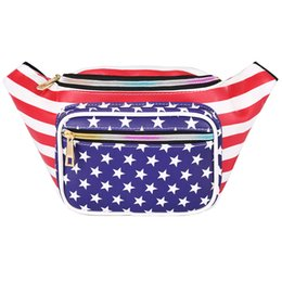 $enCountryForm.capitalKeyWord UK - SANSARYA USA American Flag Fanny Pack For Patriotic The Stars And Stripes 4th Of July Waist Bag For Women and Men
