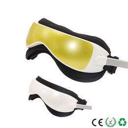 $enCountryForm.capitalKeyWord Australia - Eye Care Device Electric DC Vibration Eye Massager Machine Music Magnetic Air Pressure Infrared Heating Massage Glasses