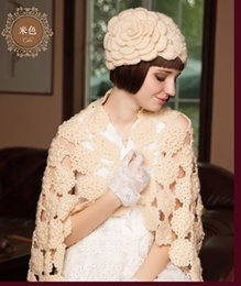 $enCountryForm.capitalKeyWord NZ - Women's Fashion Knitted Cap Autumn Winter Cotton Warm Hat Heavy Hair Ball Twist Beanies Solid Color Hip-Hop Wool Hats
