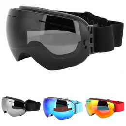 ac70cb449 Óculos de Esqui Dupla Camada PC Lens de Neve de Inverno Esportes Snowboard  Patinação Óculos Eyewear Anti-UV Proteção Esqui Máscara
