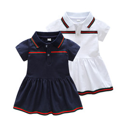6789d6b9d5072 Détail Baby Girl Dress 2018 Robes D été De Filles Style Infantile Dress  Vente Chaude Bébé Fille Vêtements D été Solide Couleur Dress Low Price