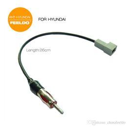 leewa car radio wire cable for hyundai (09-2011) kia ki-11 female connector  antenna adapter sku:1548