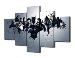 $enCountryForm.capitalKeyWord Australia - Batman Dark Knight Comics,5 Pieces Canvas Prints Wall Art Oil Painting Home Decor (Unframed Framed)