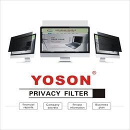 YOSON 25 25.5 26 27 27.5 28 inch LCD monitor screen Privacy Filter anti peep film   anti reflection film   anti spy film on Sale