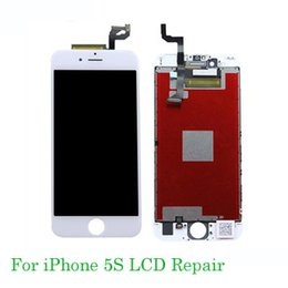 Touch Screen Lcd Iphone 5s NZ - For iphone lcd Repair LCD Complete Screen with Frame Full Assembly Replacement Cell Phone Touch Panel for iPhone 5s