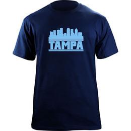 Originals T Shirts NZ - Original Tampa Bay Skyline Rays T-Shirt