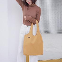 $enCountryForm.capitalKeyWord NZ - Ladies Cloth Canvas Tote Bag Handmade Cotton Shopping Travel Women Folding Shoulder Shopping shopper Bags