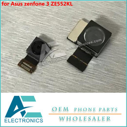 China the main camera for Asus zenfone 3 ZE552KL ZE520KL Rear Back Camera Front Camera Z012DA Z017DA flex cable Free Shipping suppliers