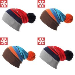 Discount beanies hombres - Winter Ski Hat Warm Woolen Caps For Men Hats Female Beanies Skullies Quality Gorros Hombre Snowboard Cap Easy To Use 19a