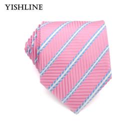 f754878f9d097 XT124 Formal Corbatas de 8 cm de Negocios Vestidos de Boda Corbata de Los  Hombres Clásicos Rosa Corbata Blanca Corbatas Accesorios Vestido de hombres  ...