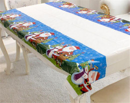 RectangulaR table cloth coveR online shopping - Hot Festive Party Merry Christmas Rectangular Tablecloth Kitchen Dining Table Covers Christmas Decorations for Home Natal Noel New Year