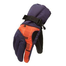 $enCountryForm.capitalKeyWord UK - New Sale Winter Man Outdoor Sports Waterproof Thickening Climbing Skiing Gloves(Dark purple orange)