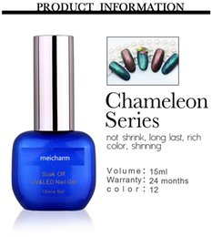 Wholesale soak off chameleon color nail gel uv free sample uv gel nail polish