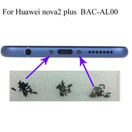 housing huawei 2019 - 4PCS Buttom Dock Screws Housing Screw nail tack For Huawei nova2 plus BAC-AL00 Mobile Phones cheap housing huawei