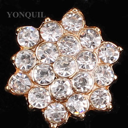 vintage hat pins 2020 - 2018 New Vintage Full crystal hexagon making for women's brooches pin material for coat hats Scraft jewelry accesso