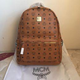 e81df0e41d Genuine Leather High Quality 3 size 2018 Luxury Brand men women's Backpack  famous Backpack Designer lady backpacks Bags Women Men back pack