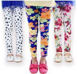 45 pants online shopping - 45 styles Spring Baby Kids leggings Children girls Flower printed Toddler baby floral Leggins pants Girls legging baby girl leggings