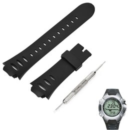 suunto strap 2019 - Watch Strap Rubber For SUUNTO OBSERVER SR X6HRM Watch Band Replacement Bands Strap SS0S4723000 Accessories l1023#2 cheap