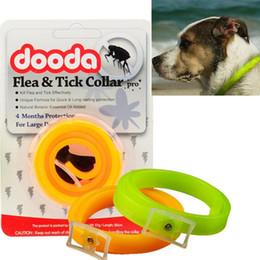 Dog Collars Flea NZ - Dog Flea Collar Adjustable Dog Cat Repel Tick Flea Kill Remover Pet Protection Aroma Neck Collar Insect Repellent Collar Pet Supplies