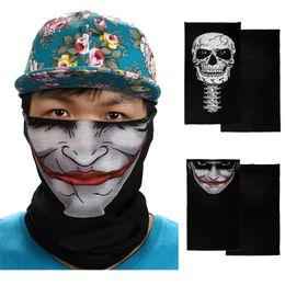 $enCountryForm.capitalKeyWord Canada - multicolor outdoor sport bicycle face mask bike skull ghost half face mask men cycling 40AT06