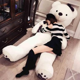 big white teddy NZ - Huge Giant Love Teddy Bears Plush Toys Gifts for Girls Soft Big Stuffed Bears Doll Christmas Valentine's Day