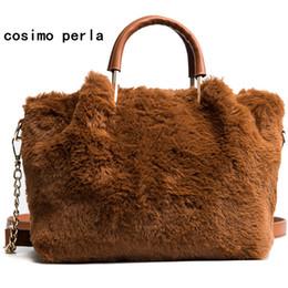 $enCountryForm.capitalKeyWord NZ - plush Women Handbags Plush Day Clutches top Handle Fashion Chains Shoulder Bag for Lady