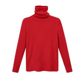 $enCountryForm.capitalKeyWord UK - Autumn Winter Turtleneck Sweater Women 2017 New Design Red Thick Warm Women Cotton Blend Sweater And Pullover Female Jumper Tops