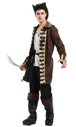 Toy Story Australia - Shanghai Story Pirate Costumes Adult Men Full Suit Outfit Halloween Carnival Party Cosplay Costumes