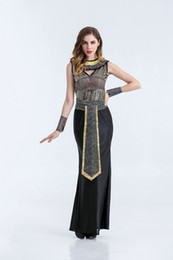 8 Photos Cleopatra Costume UK - European and American European Cleopatra cosplay costume Halloween princess Pharaoh sexy  sc 1 st  DHgate.com & Shop Cleopatra Costume UK | Cleopatra Costume free delivery to UK ...
