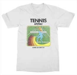 $enCountryForm.capitalKeyWord Australia - 2018 New Men's Tennist Anyone ? T Shirt Court Net Game Match Grand Slam Love Racket Sporter Service Tee Shirt
