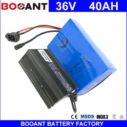 Motor Bicycles Australia - BOOANT Free Shipping E-Bike Scooter Battery pack 18650 cell 36V 40AH For Bafang 1500W Motor Electric Bicycle EU US Free Customs