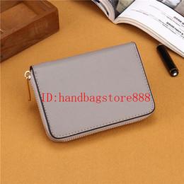 76a0c5b026bdf 7 Farben kleine Geldbörsen Mode Frauen MICHAEL KALLY Brieftasche berühmte  Marke einzigen Reißverschluss Brieftaschen weiblichen PU Leder Geldbörse