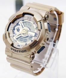 Men S Big Watch Australia - Men Military Watch Wristwatch LED Quartz Clock Sport Watch Male relogios masculino Sport S Shock Watch Men ga100 110 big bang 65