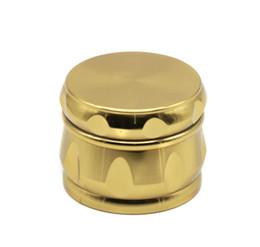 Metal Fines UK - 4 layer zinc alloy drum type smoke smog 63MM fine polygon metal grinder smoke cutter