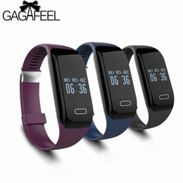 Heart Rate Iphone NZ - GAGAFEEL Sport Smart Wristband for iphone IOS Android Samsung Heart Rate Monitor Smart Watches for Women Men ClockY1883102