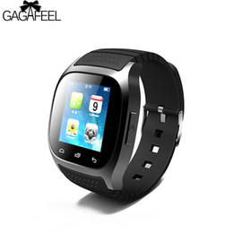 $enCountryForm.capitalKeyWord Canada - Sport Bluetooth Smart Watch for Men Women Digital SMS Remind Pedometer for Android Samsung Phone