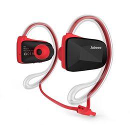 $enCountryForm.capitalKeyWord Canada - Jabees Bsport NFC Wireless Sports Bluetooth Headset Earphone Stereo Sweatproof Waterproof Swimming Running headphone 1pc lot
