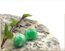 $enCountryForm.capitalKeyWord UK - 10pc Natural a cargo Yang green jade road pass genuine transfer beads jade pendant pendant men and women necklace