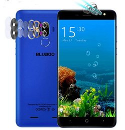 $enCountryForm.capitalKeyWord Australia - Original BLUBOO D1 Mobile Phone Quad Camera lens MTK6580A Quad Core 2G RAM 16G ROM Android 7.0 Fingerprint 8.0MP Cell phones